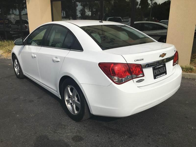 2014 Chevrolet Cruze LT Fleet 4dr Sedan w/1FL - Tallahassee FL
