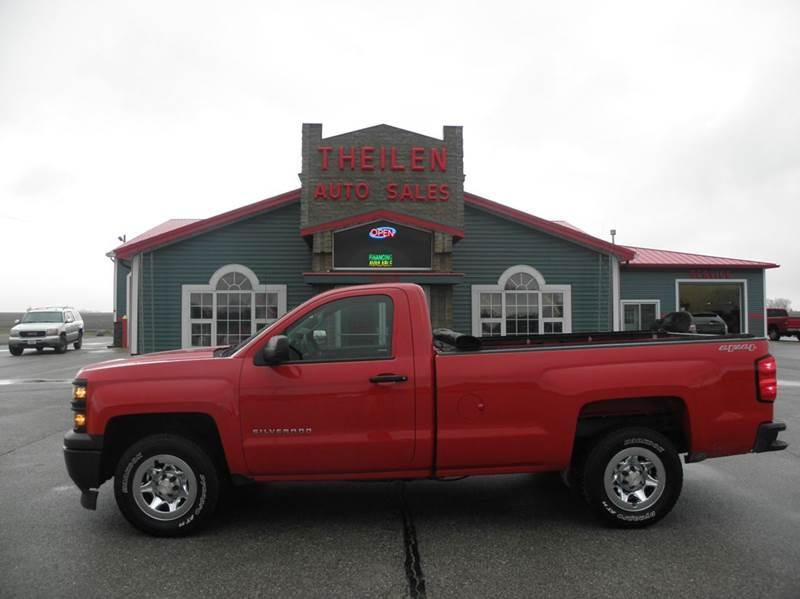 2014 chevrolet silverado 1500 4x4 work truck 2dr regular cab 6 5 ft sb w 2wt in clear lake ia. Black Bedroom Furniture Sets. Home Design Ideas