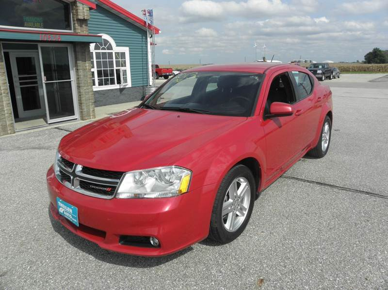 2013 dodge avenger sxt 4dr sedan in clear lake ia theilen auto sales. Cars Review. Best American Auto & Cars Review