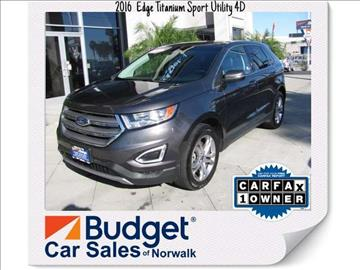 2016 Ford Edge for sale in Norwalk, CA