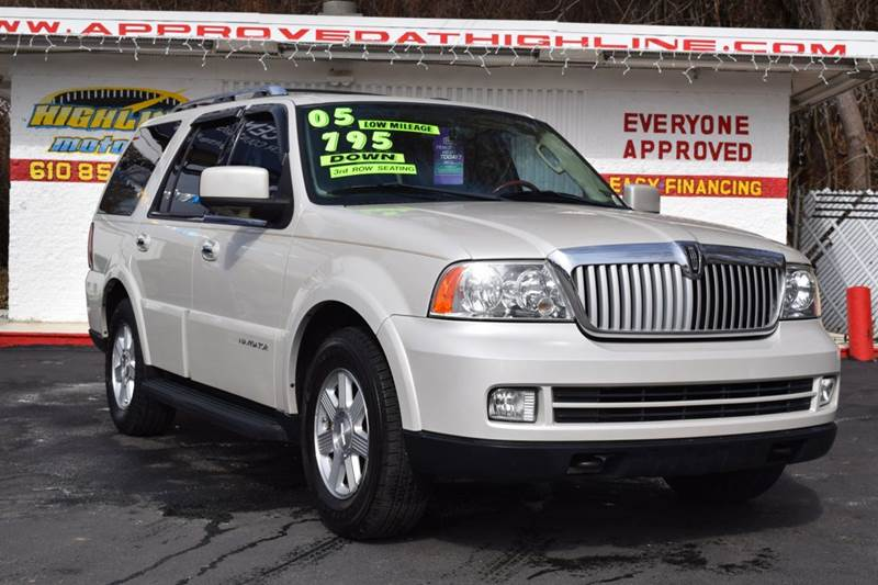 2005 lincoln navigator in aston pa highline motors