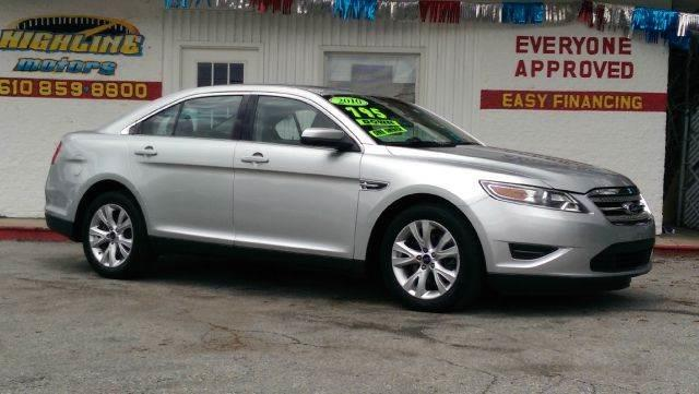 Used 2010 ford taurus for sale for Highline motors aston pa