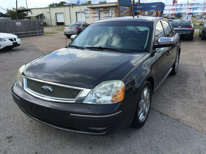 2007 Ford Five Hundred Limited 4dr Sedan - Beaumont TX
