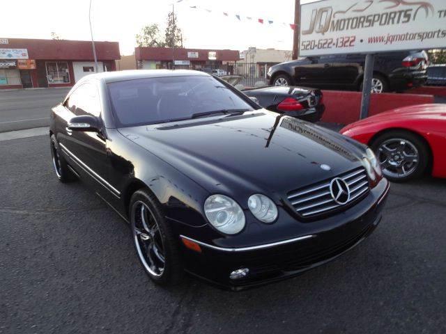 2003 mercedes benz cl class cl500 2dr coupe in tucson for Mercedes benz tucson az