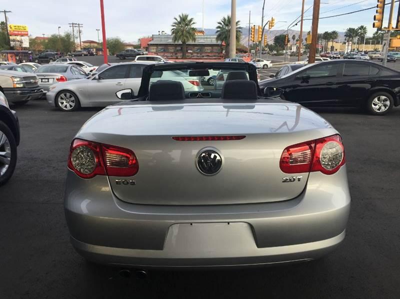 2010 Volkswagen Eos Komfort 2dr Convertible 6A - Tucson AZ