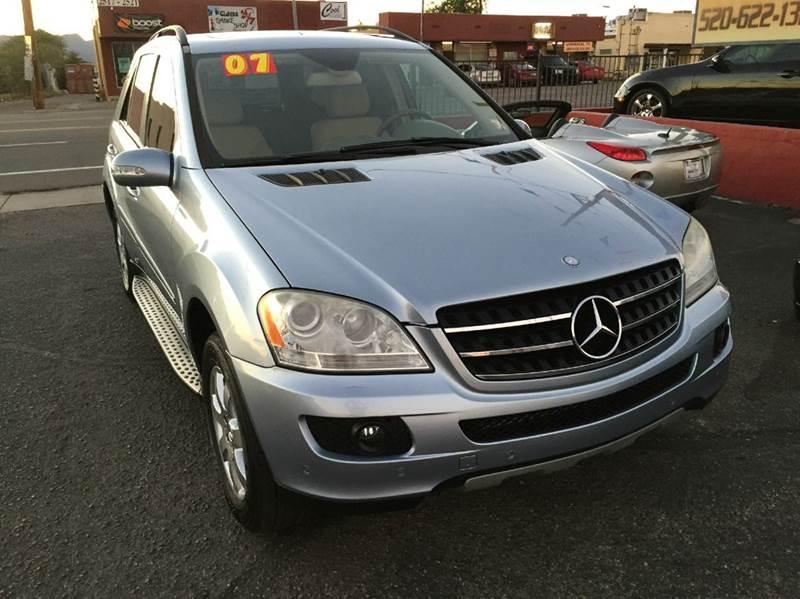 2007 mercedes benz m class ml320 cdi awd 4matic 4dr suv in for Mercedes benz tucson az