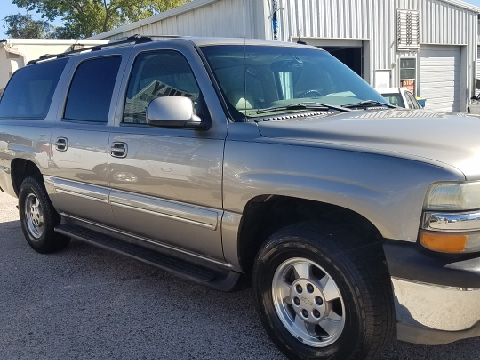 2002 Chevrolet Suburban for sale in Longview, TX