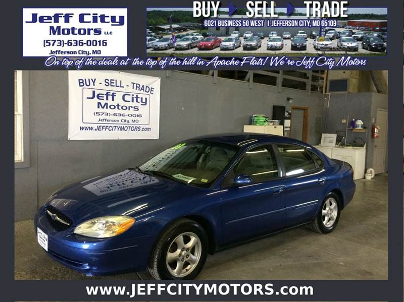 2003 ford taurus se 4dr sedan in jefferson city mo jeff city motors. Black Bedroom Furniture Sets. Home Design Ideas