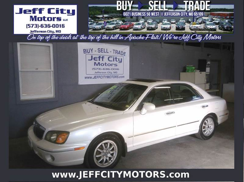 2002 Hyundai Xg350 L 4dr Sedan In Jefferson City Mo Jeff