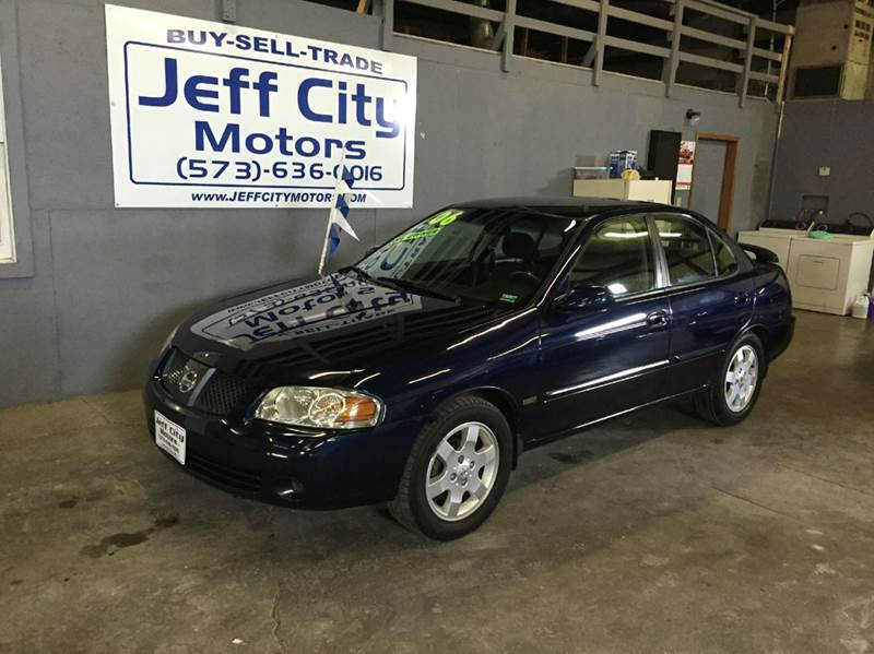 2006 Nissan Sentra In Jefferson City Mo Jeff City Motors
