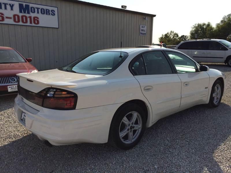 2003 Pontiac Bonneville SLE 4dr Sedan - Jefferson City MO