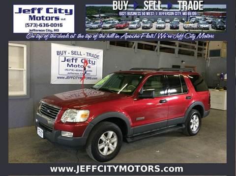 2006 Ford Explorer & Ford Used Cars Pickup Trucks For Sale Jefferson City Jeff City Motors markmcfarlin.com