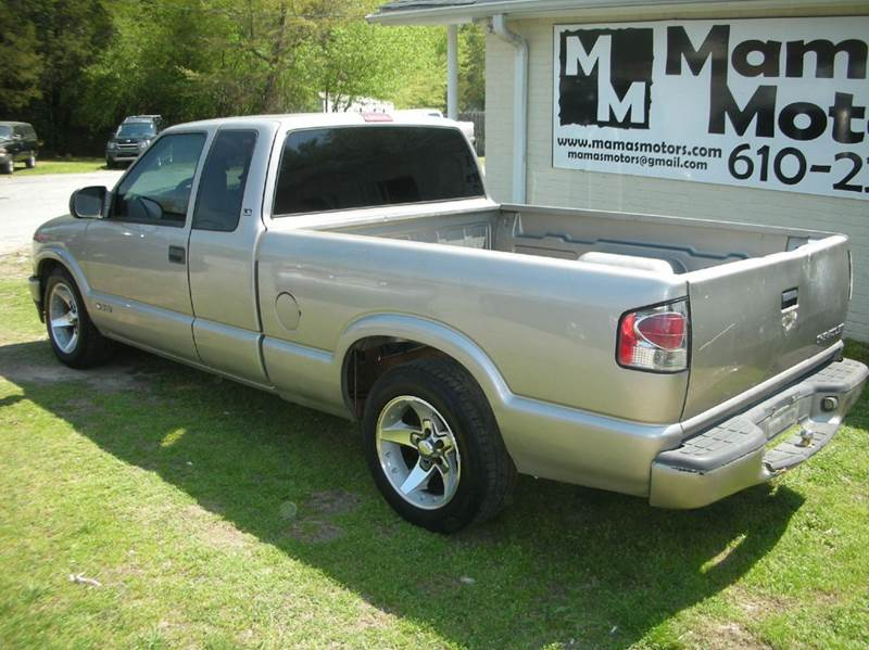 2002 Chevrolet S-10 3dr Extended Cab LS 2WD SB - Greenville SC