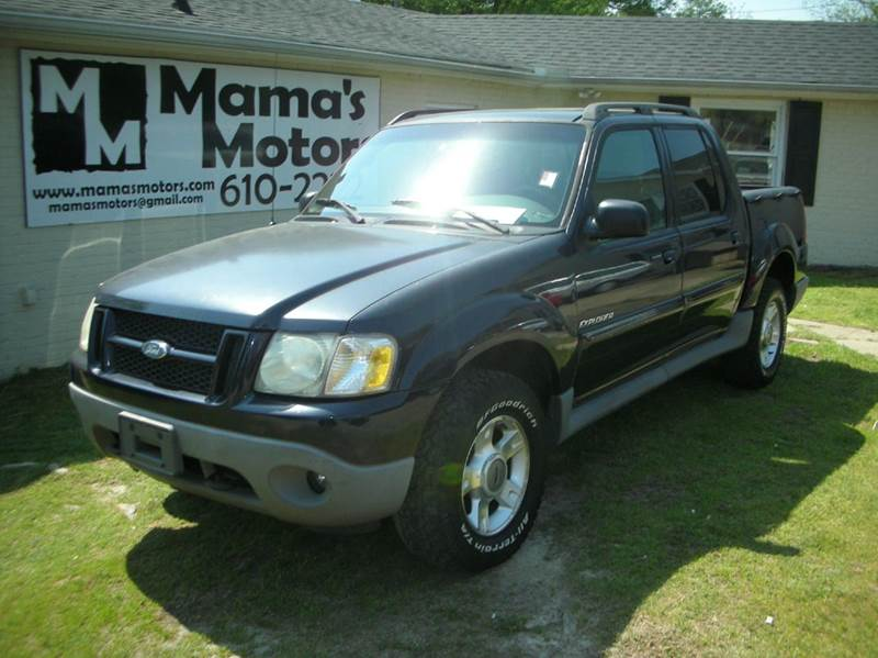 2001 Ford Explorer Sport Trac Base 4dr 4WD Crew Cab SB - Greenville SC