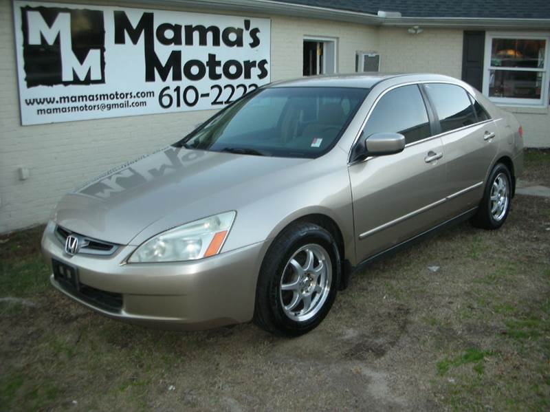 2004 honda accord lx 4dr sedan in greenville sc mama 39 s. Black Bedroom Furniture Sets. Home Design Ideas