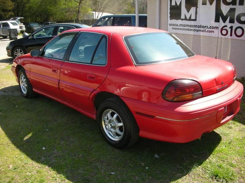 1997 Pontiac Grand Am SE 4dr Sedan - Greenville SC