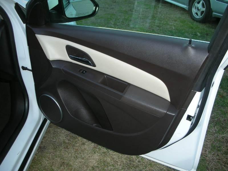 2012 Chevrolet Cruze LT 4dr Sedan w/2LT - Greenville SC