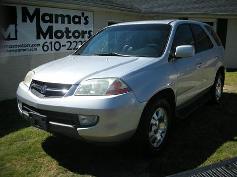 2002 Acura MDX for sale in Greenville, SC