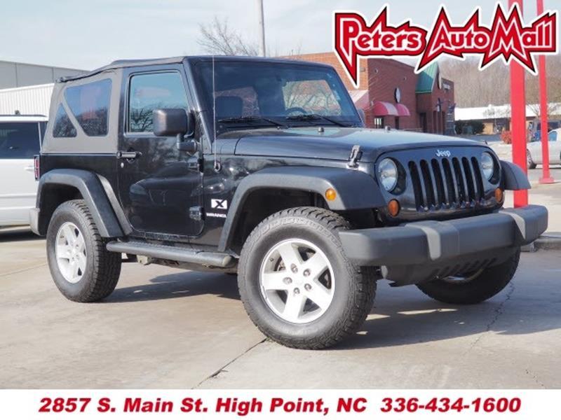 2008 jeep wrangler for sale in north carolina. Black Bedroom Furniture Sets. Home Design Ideas