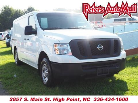 2014 Nissan NV Cargo for sale in High Point, NC