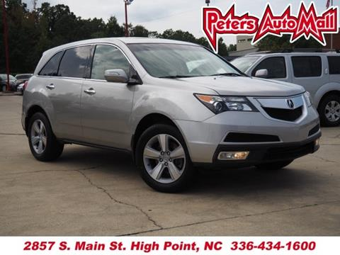 2010 Acura MDX for sale in High Point, NC