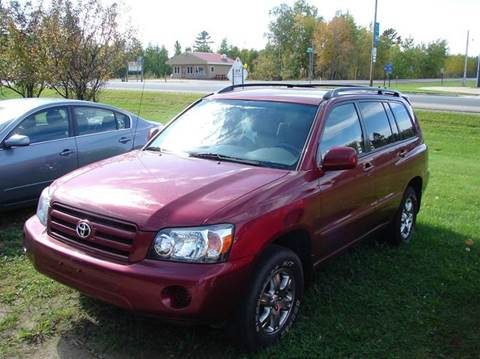 2004 Toyota Highlander for sale in Kelliher, MN
