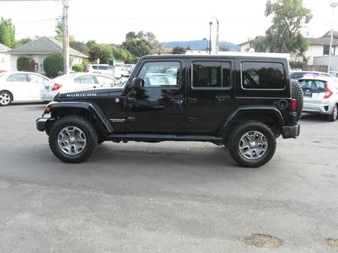 2014 Jeep Wrangler Unlimited for sale in Monterey, CA