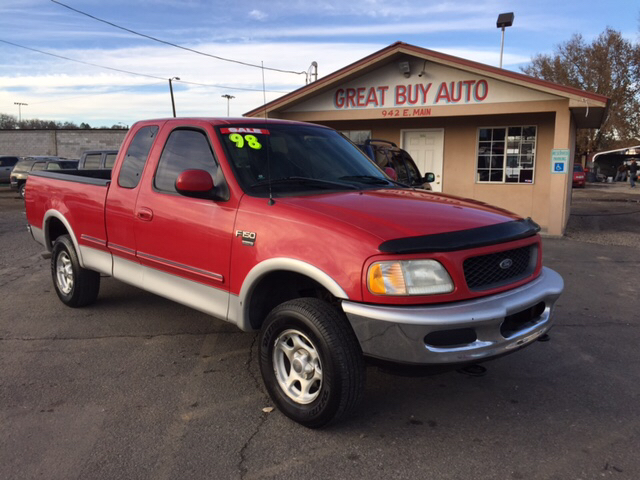 1998 ford f 150 xlt 3dr 4wd extended cab sb in farmington. Black Bedroom Furniture Sets. Home Design Ideas