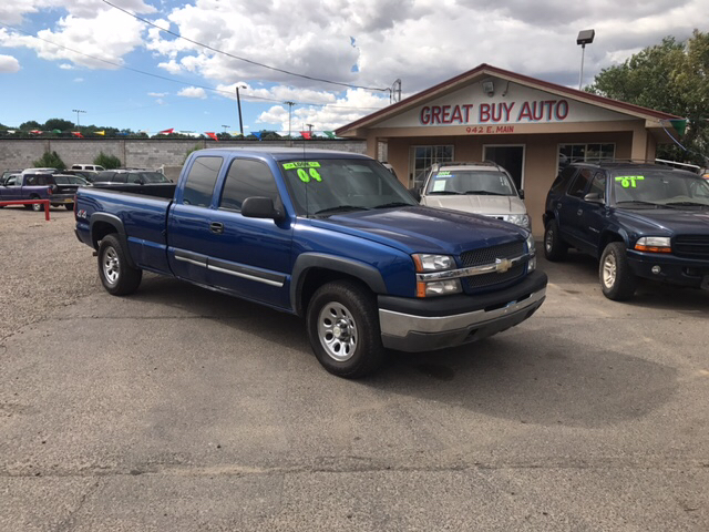 2004 Chevrolet Silverado 1500 Base 4dr Extended Cab 4WD LB - Farmington NM