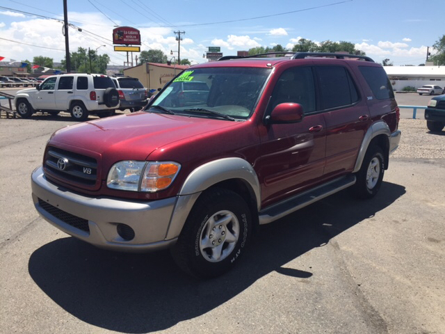 2001 toyota sequoia sr5 4wd 4dr suv in farmington nm great buy auto sales. Black Bedroom Furniture Sets. Home Design Ideas