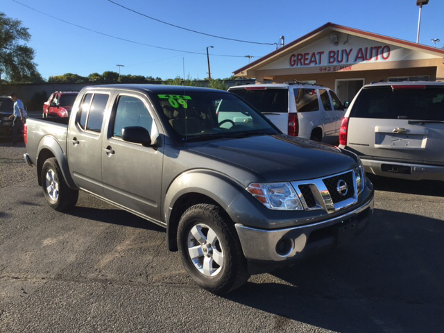 2009 nissan frontier se v6 4x4 4dr crew cab swb pickup 5a in farmington nm great buy auto sales. Black Bedroom Furniture Sets. Home Design Ideas