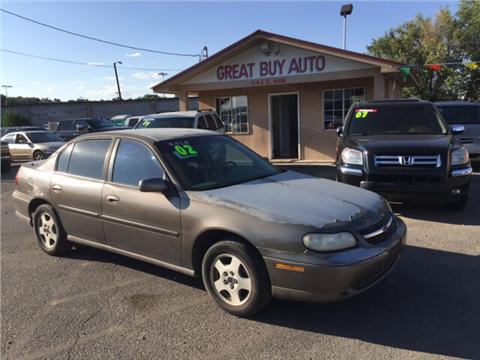 2002 Chevrolet Malibu for sale in Farmington, NM