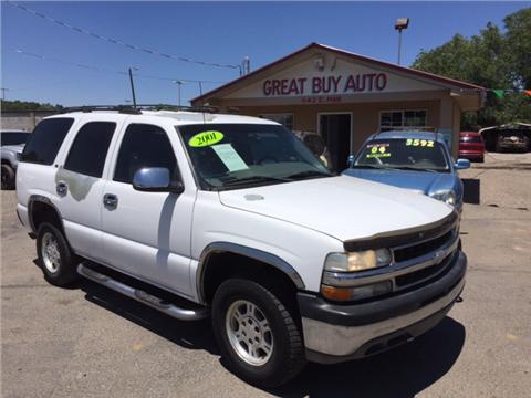 2001 Chevrolet Tahoe for sale in Farmington, NM