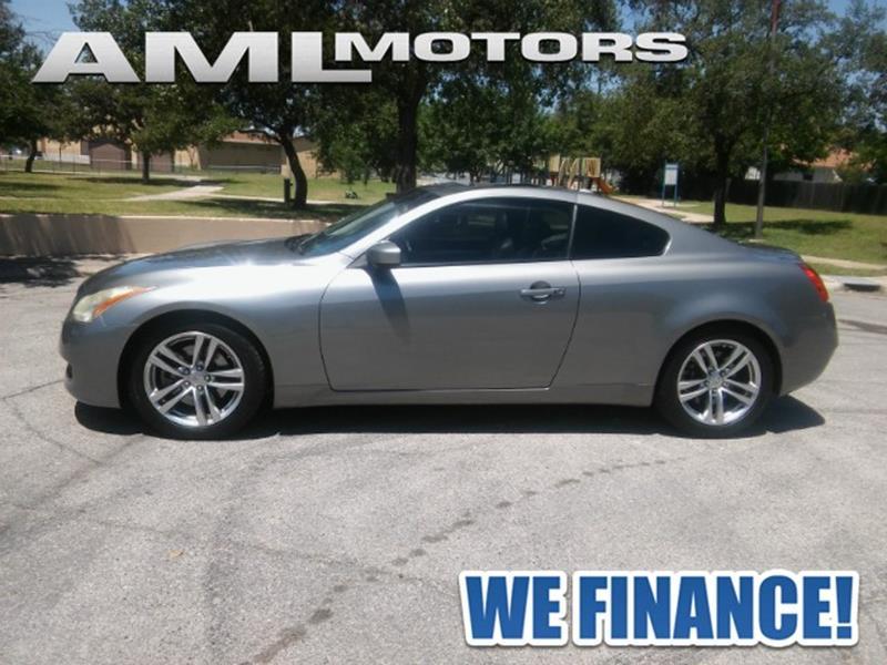 2009 Infiniti G37 Coupe  - San Antonio TX