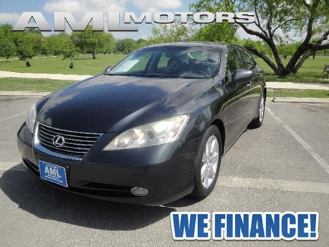 Lexus es 350 for sale in san antonio tx for Motor finance company san antonio