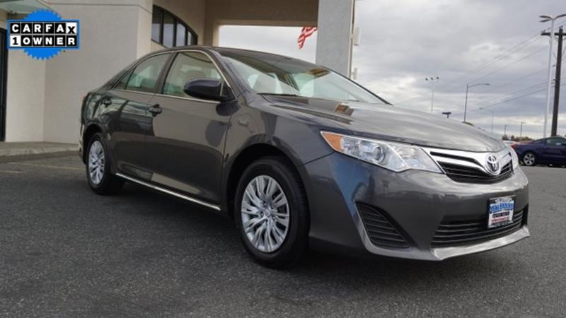 Used 2014 Toyota Camry For Sale In Washington
