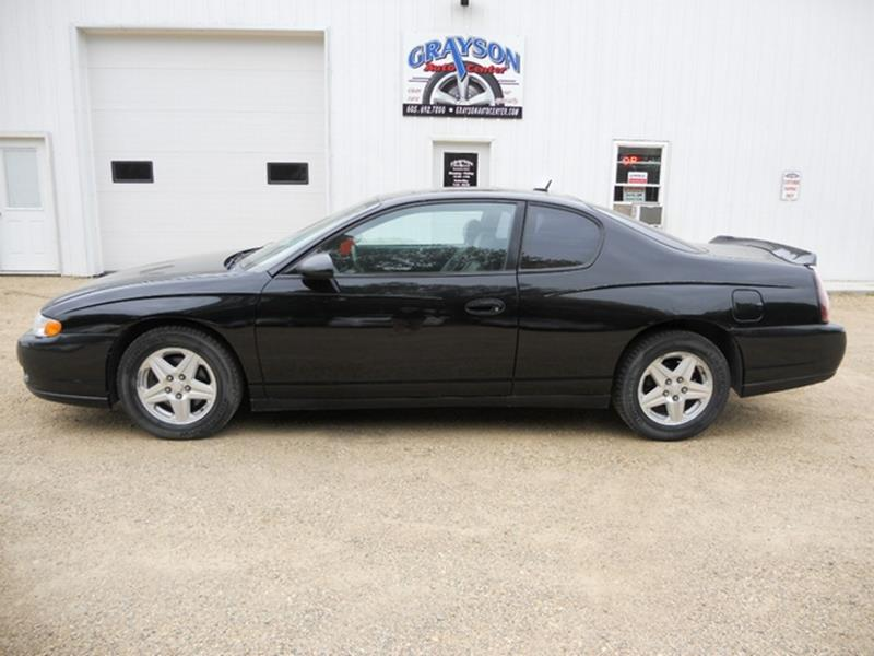 2005 chevrolet monte carlo lt 2dr coupe in brookings sd. Black Bedroom Furniture Sets. Home Design Ideas