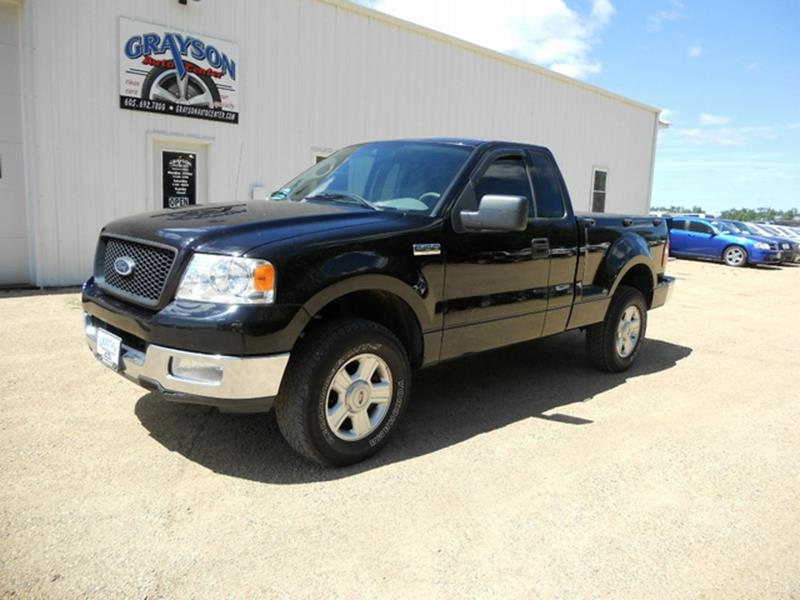 2004 ford f 150 fx4 2dr regular cab 4wd flareside 6 5 ft sb in brookings sd grayson auto center. Black Bedroom Furniture Sets. Home Design Ideas