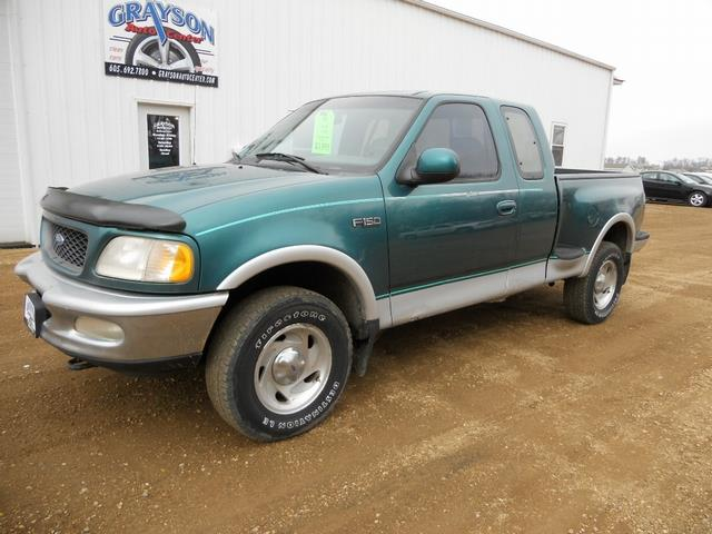 1997 ford f 150 lariat 3dr 4wd extended cab stepside sb in brookings sd grayson auto center. Black Bedroom Furniture Sets. Home Design Ideas
