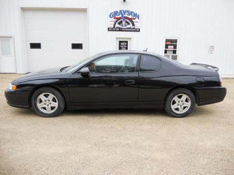 2005 Chevrolet Monte Carlo for sale in Brookings, SD