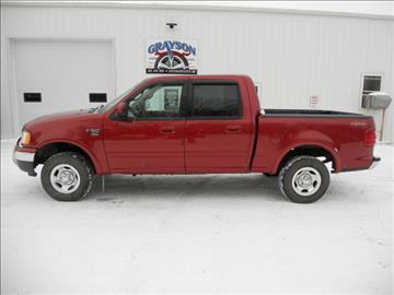 2001 Ford F-150 for sale in Brookings, SD
