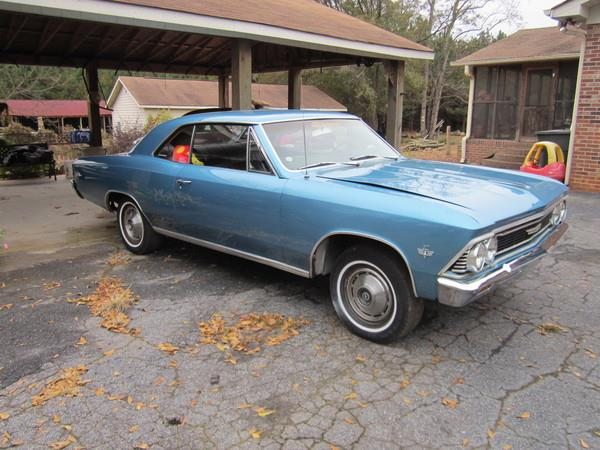 1966 Chevelle Malibu for Sale