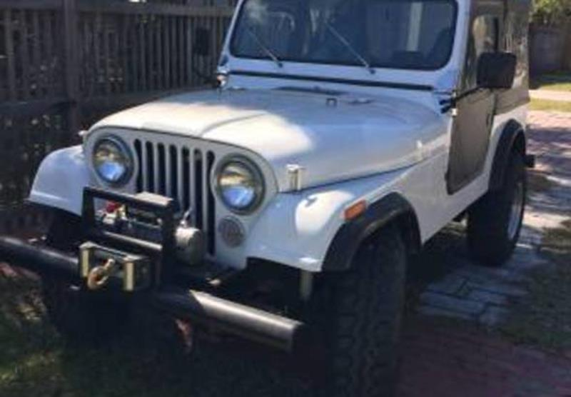 1983 Jeep CJ-7 for sale in Calabasas, CA