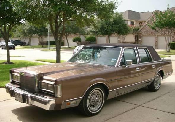 1988 Lincoln Town Car For Sale In Calabasas Ca