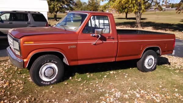 1984 ford f 250 for sale in morganton nc. Black Bedroom Furniture Sets. Home Design Ideas