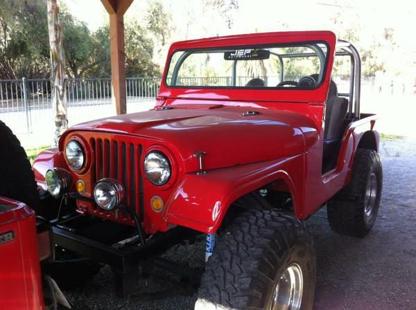 1963 Willys CJ5 for sale in Calabasas CA