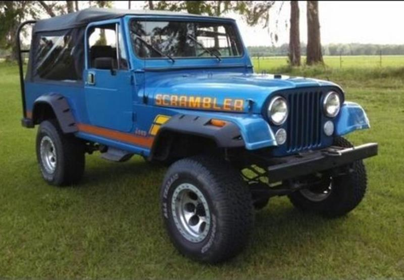 1983 Jeep CJ-8