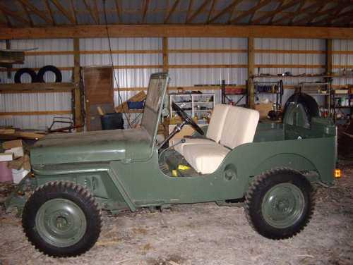 1948 Willys Jeep CJ2 for sale in Calabasas CA