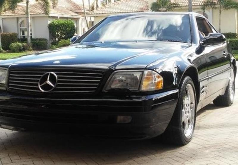 1999 mercedes benz sl class for sale for Mercedes benz of calabasas ca
