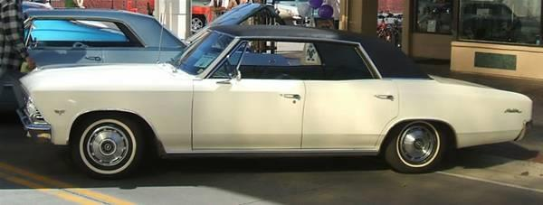 1966 Chevrolet Chevelle for sale in Calabasas CA